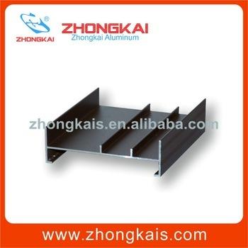 Zhongkai brand factory sale snape frame aluminum profile for flex face light box