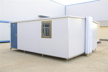 prefabricated gauge modular earthquake box install folding container house