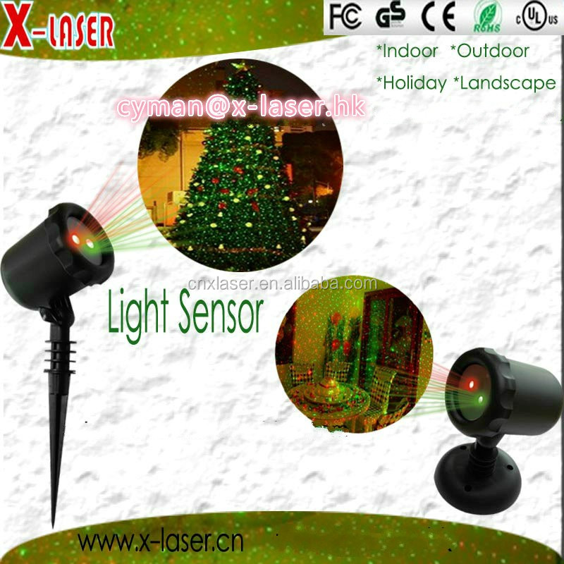 Outdoor Christmas lawn star laser projector shower light moving shower projector holiday lighting