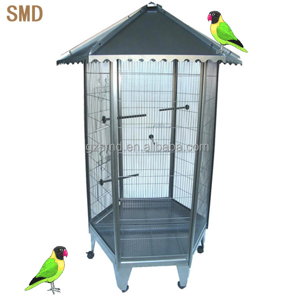 Wholesale Out Door Iron Aviary Cage for Bird