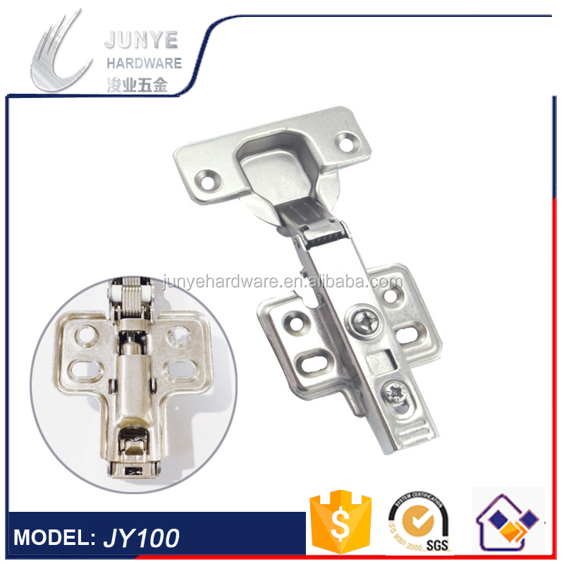 2017 Iron Cabinet Hydraulic Hinges, Clip On Soft Closing Furniture Hinge