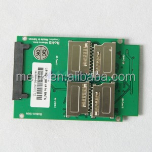 Brand New 4 Port SD to SATA 7+15 Pin SATA Adapter Card SD SDXC card RAID