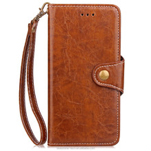 Factory price good quality phone accessory for apple iphone 6 case leather wallet style with sling