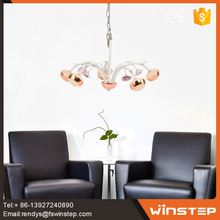 Industrial design energy saving 8w led lighting chandelier housing decoration