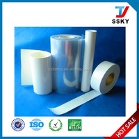 Suppository packing opaque white pvc/pvdc/pe film