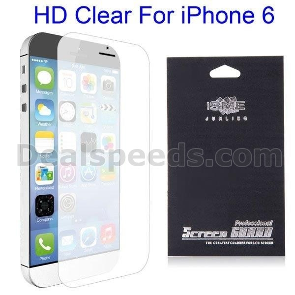 HD Clear Screen Protector Film Guard for iPhone 6 4.7