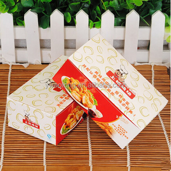 Chicken nugget box for KFC box LFGB certificate and OEM service