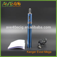 New arrival kangertech starter kit 1900mah battery Kanger Evod mega wholesale