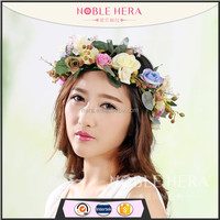 Noble Hera 784E Stock Item Vintage Artificial Plastic Rose Flower Garland