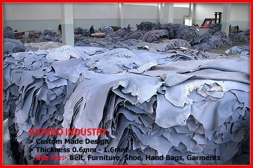 wholesale super soft garment finished natural cow leather