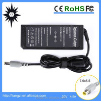 Cheap Price High Quality 20V 4.5A Lenovo Laptop Charger for ThinkPad T400 T500 Series