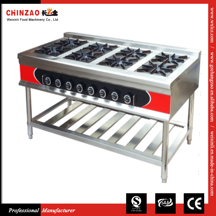 China Manufacturer Commercial Gas Cooktops / Industrial Gas Burners