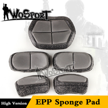 WoSporT EPP sponge pad accessories for high version MH type OD color CS war game fast helmet military airsoft helmet