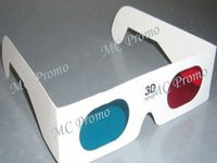 recycled paper 3D video glasses