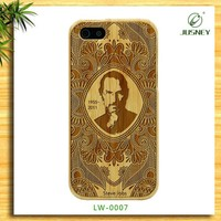 China supplier smart phone real nature wood color change back cover for iphone 5