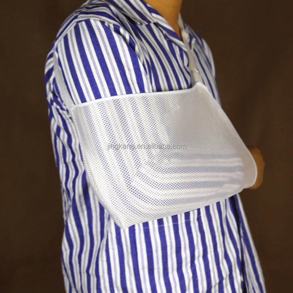 Breathable orthopedic broken arm sling adjustable shoulder support arm sling