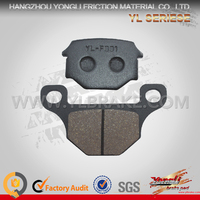 Long Working Life Low Dust Brake Pad Backing Plate