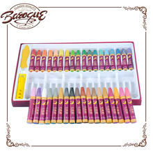 Wholesale Oil Pastel 36 Color With Handle Box Set For Kids Non Toxic Wax Twist Washable Gel Crayon