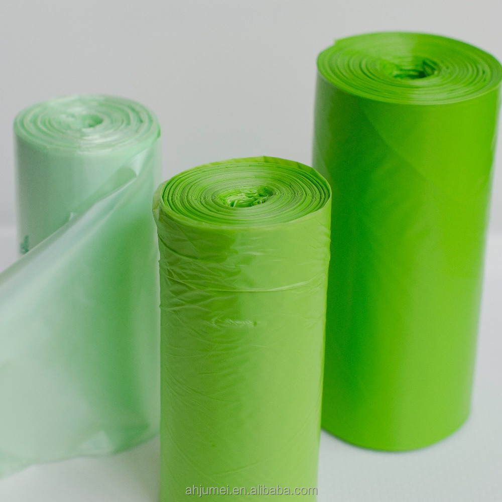 Biodegradable PLA 100% raw material plastic garbage bag