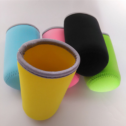 Simple fashion diving material thermal cup bag baby neoprene bottle cooler bag