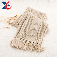 winter warm long cheap girls winter knitted magic scarf china