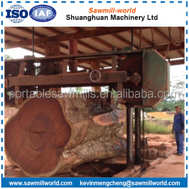 Factory!!! MJ1600 Diesel Powered Portable Wood Cutting Band Saw Machine