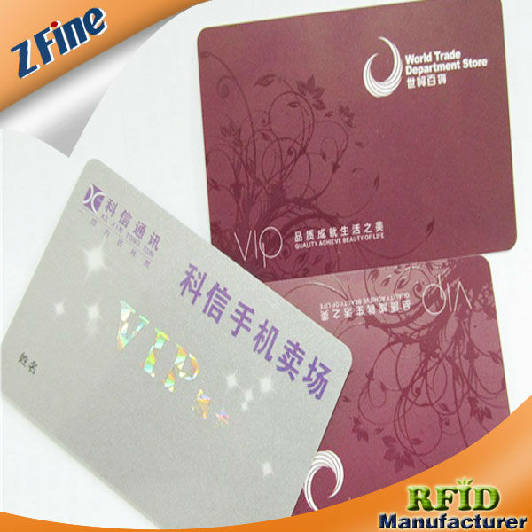 Branch letter phone stores smart card/vip card