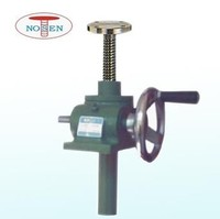 manual adjustable worm gear screw jack