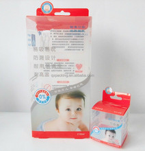 A clear small nipple hot sale teat clear plastic pp pet pvc packaging boxes
