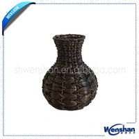 wholesale handmade wicker vase