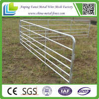 factory direct 6 rails portable sheep/lamb yard panel(professional manufacturer)