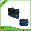 2016 new design promotional polyester material travel bag set