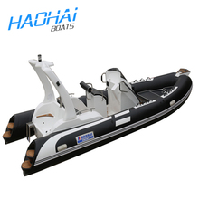 19ft 5.8m Luxury Pvc Inflatable Outboard Motor Sports Yacht(CE)