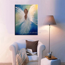 Wholesale Beautiful Colors High Quality Abstract Angel Oil Paintings On Canvas