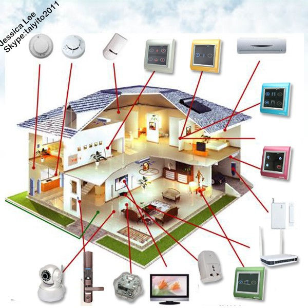 TAIYITO Smart House System Zigbee Smart Home Automation System Smart Home System Control