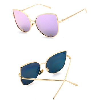 China Sunglasses Factory New Lady Custom Made Sunglasses square Sunglasses