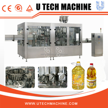Automatic Edible Cooking Oil Filling Machine/Bottling Line