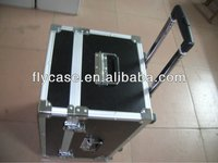 Aluminum black or silvery white aluminum suitcase/trolley storage case
