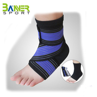 elastic ankle support Unisex Compression Foot Sleeve ankle for Basketball Football sports