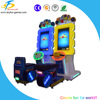 Newest game 2 player racing simulator Bulonb Racing kids coin operated game machine