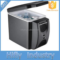 HF-600 CR(10) Cooler &warmer mini fridge cooler box car fridge ,mini portable car refrigerator
