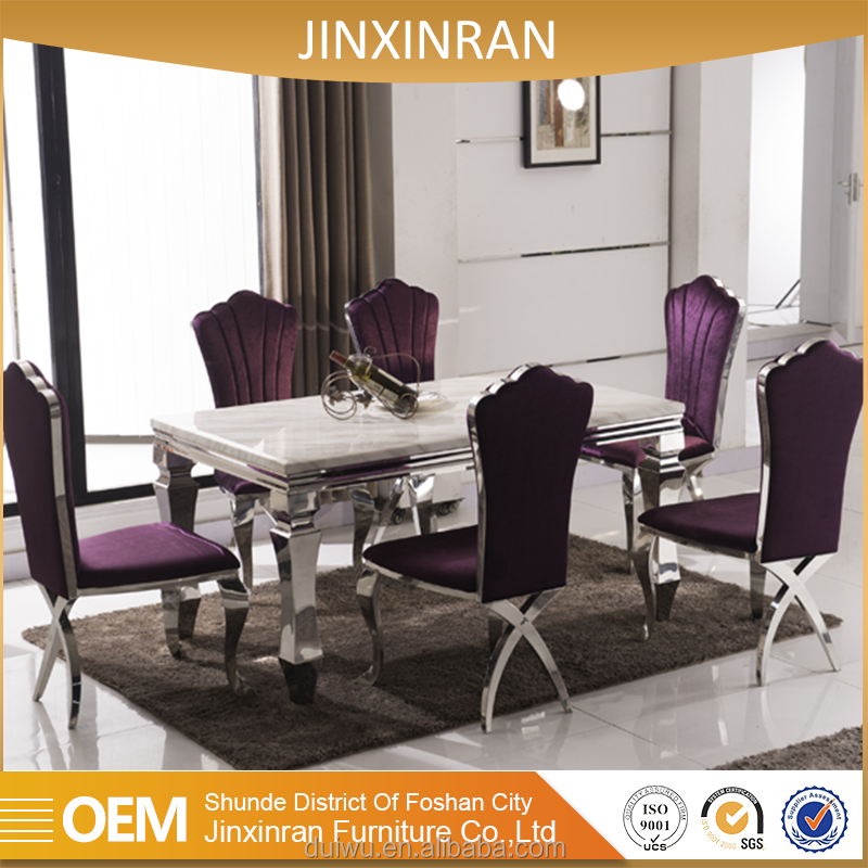 2012 modern new model octagonal marble dining room table for sale