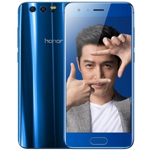 China Supplier 4GB+64GB/6GB+128GB 3D Edge Body Huawei Honor 9 Mobilephone 5.15 inch Android 7.0 NFC 4G LTE Cellphone Smartphon
