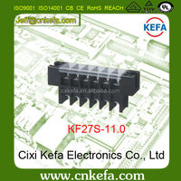 Free sample KF27S-11.0mm pitch Barrier Terminal Block connector with Cover 300V 30A