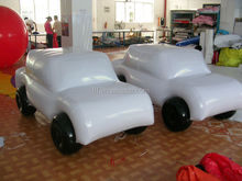 inflatable mini car model/pvc inflatable mini car replica