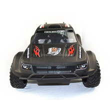 1/10 Radio control type car-SUV,electric brushless rc car toy,Black