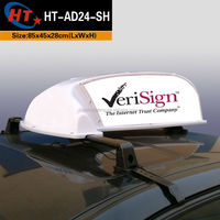 Good light stability led car lighting taxi dome