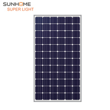 Sunhome Super light 280w 24v monocrystalline top rating solar panel