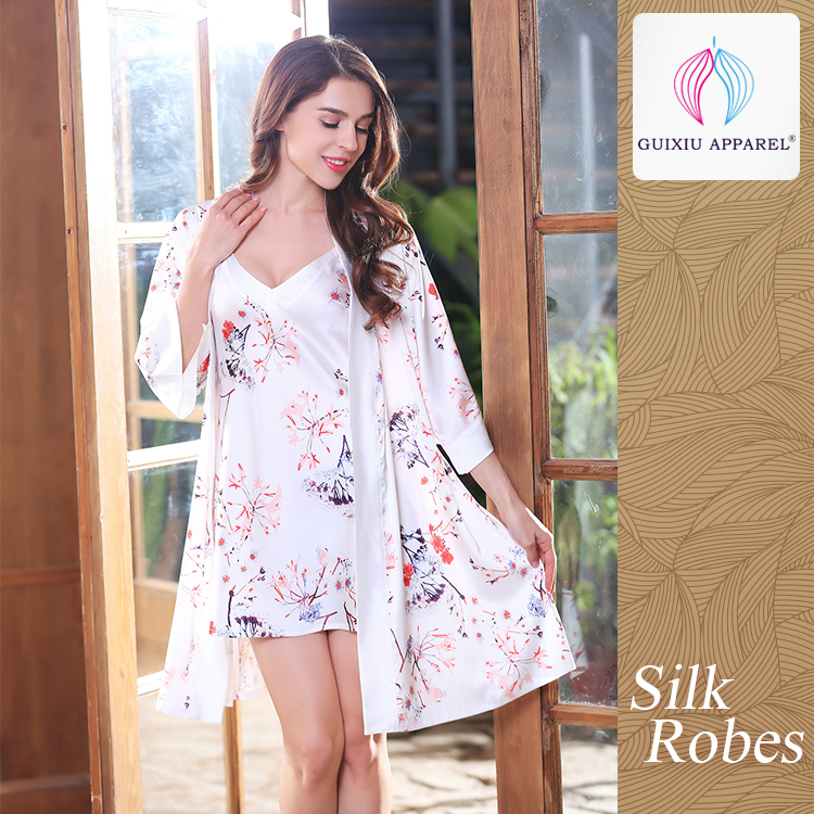 Wholesale printed fabric robes - Online Buy Best printed fabric ...