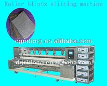 automatic ultrasonic slitting machine for non woven fabric vertical blinds